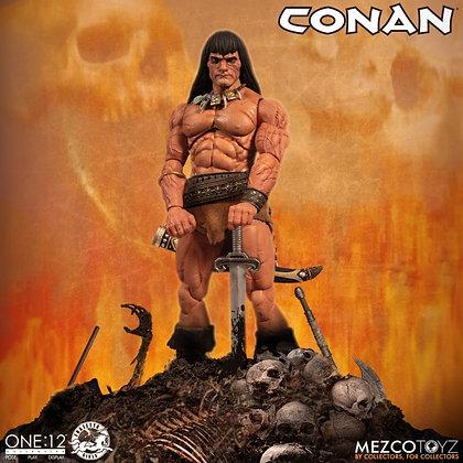 *Pre-order* Mezco One:12 Collective Conan the Barbarian