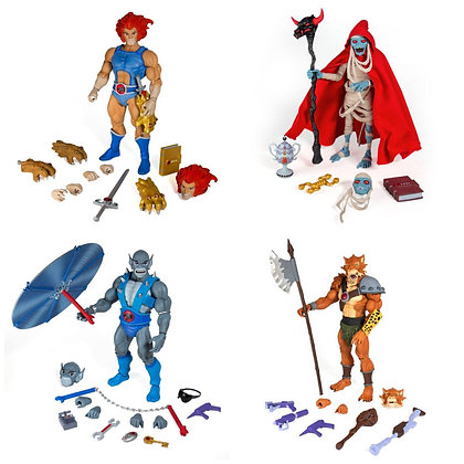 *Pre order* Super7 Thundercats Ultimates Wave 1 Set of 4