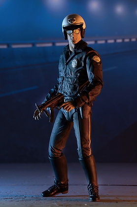 NECA Terminator 2 T-1000 Motorcycle Cop