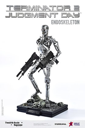 *Pre-order* Great Twins *Exclusive Version* 1/12 Terminator 2 Endoskeleton