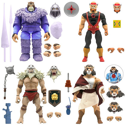 *Pre order* Super7 Thundercats Ultimates Wave4 Set