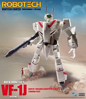 Toynami Robotech Veritech Micronian Pilot 1/100 Rick Hunter VF-1J