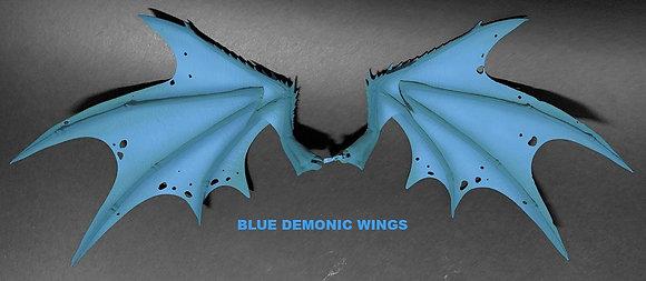 *Pre-order* Mythic Legions: Arethyr Accessory Blue Demonic Wings