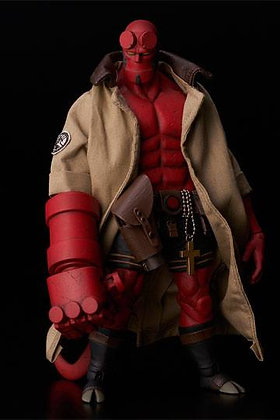 1000 Toys and Dark Horse Direct Hellboy Action Figure 1/12