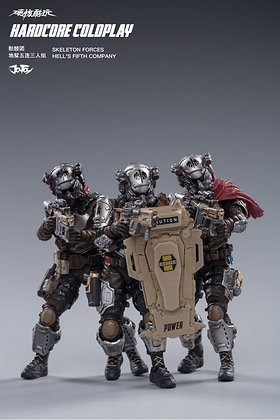 Joy Toy Skeleton Forces Hell's Fifth Company (1/18 Scale)