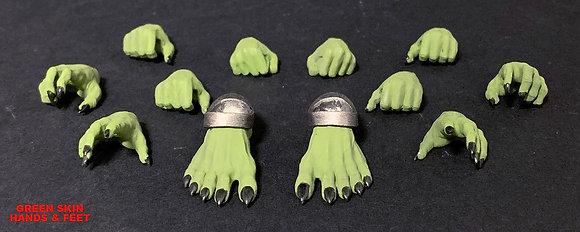 *Pre-order* Mythic Legions: Arethyr Accessory Green Skin Hands & F