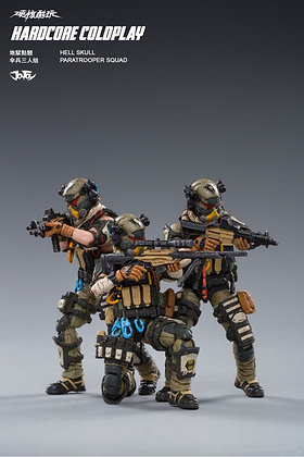 Joy Toy Skeleton Forces Paratrooper Company (1/18 Scale)