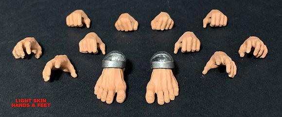 *Pre-order* Mythic Legions: Arethyr Accessory Light Skin Hands & F