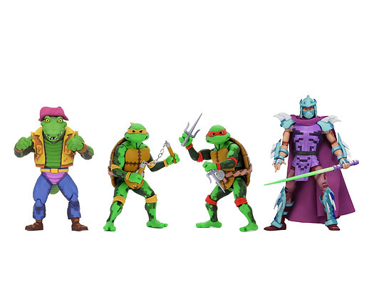 NECA TMNT Turtles in Time Series 2 Set