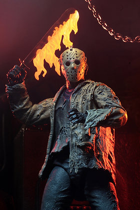 NECA Freddy vs Jason Ultimate Jason