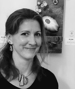 Patricia Zannie, artist at Gallery 209