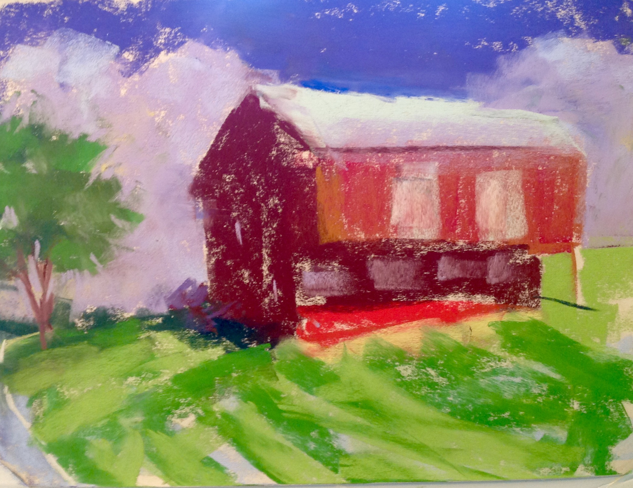 Kathy Edwards - Red Barn