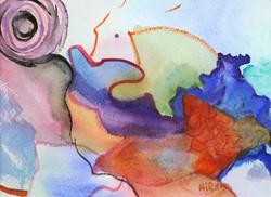 Cathy Hirsh - Calcutta Whimsey - watercolor