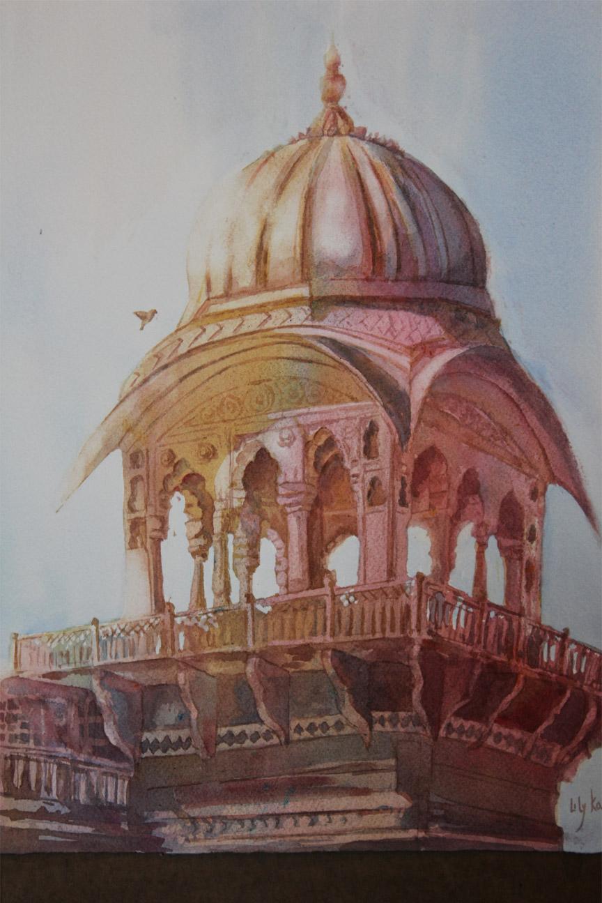 Lily Kak - Udaipur Palace Turret