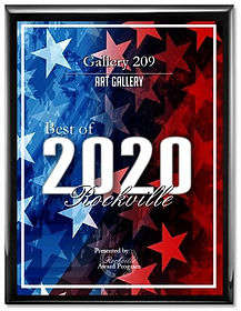 Gallery 209 Recognition as Best of 2020 Rockville Art Gallery.jpg
