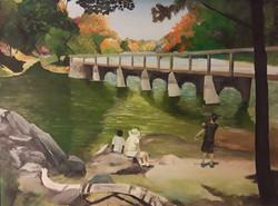Edward Johanson- At Great Falls with Gra