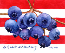 Vicky Surles - Red, White and Blueberries