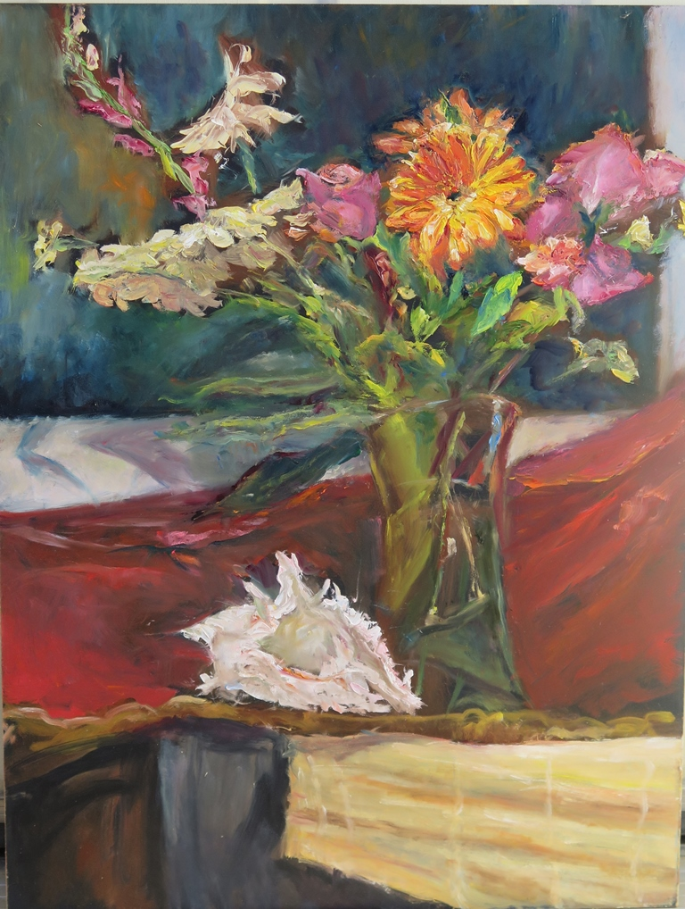 JeannePowell_Flower Fun_Oil
