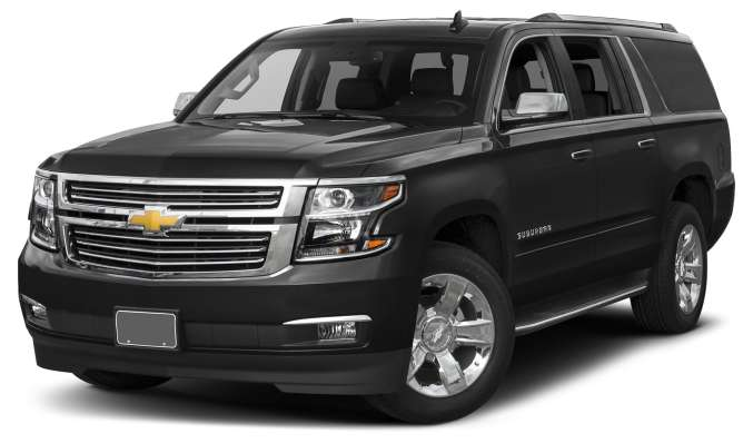 Chevy Suburban with Captain Seats
