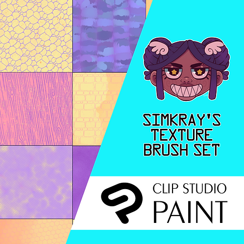 Simkray's 21 TEXTURE BRUSH SET