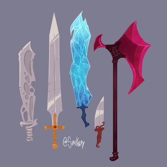 basic swords