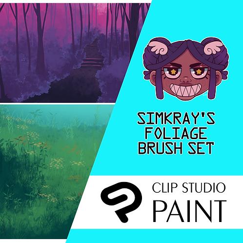 Simkray's 13 Foliage Brush Set