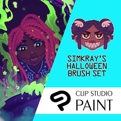 Simkray's 22 Halloween Brush Set [CSP]