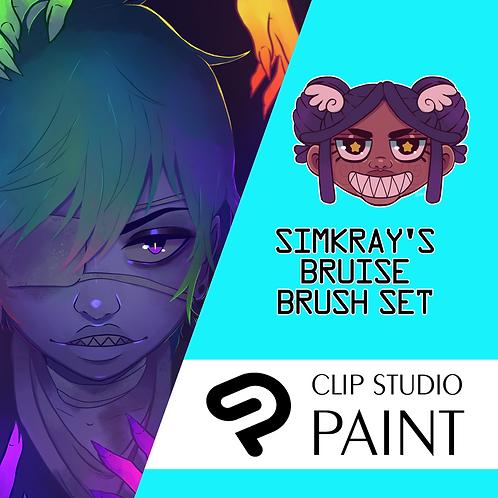 Simkray's 6 Bruise Brush Set