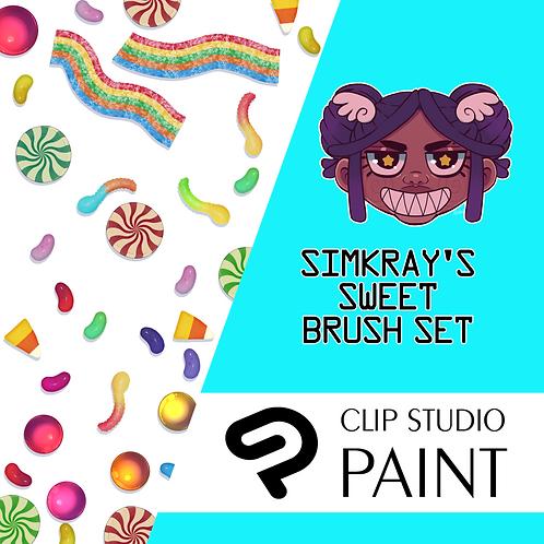 Simkray's 11 Sweet Brush Set [CSP]