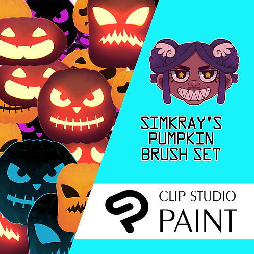 Simkray's 4 Pumpkin Brush Set [CSP]