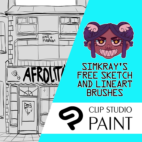 Simkray's 7 Free Sketch Brushes