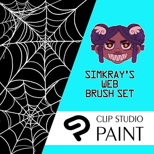Simkray's 6 WEB Brush Set [CSP]
