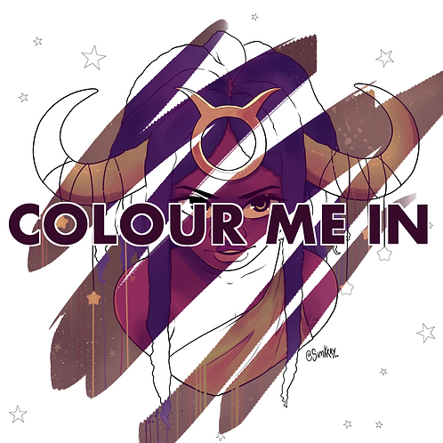 Colour Me In! || Taurus