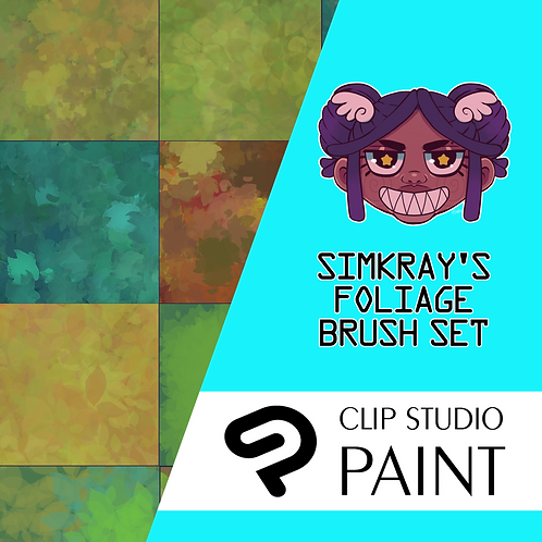 Simkray's 19 Foliage Brush Set