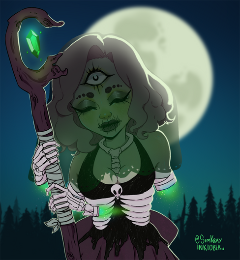 Inktober || 3 || Reaper