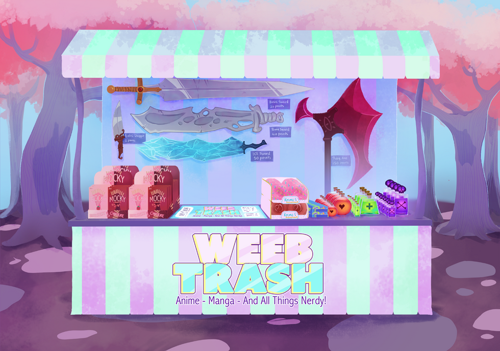 weeb stall