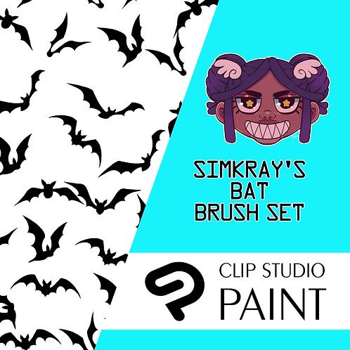 Simkray's 3 Bat Brush Set [CSP]