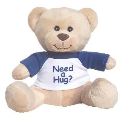"""Give a Little Hug"" Mini Plush Teddy Bear"