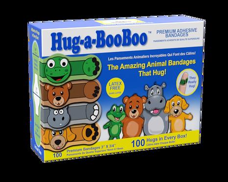 Hug-a-BooBoo 100 Count Box
