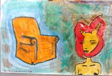 Chair n Bunnygirl