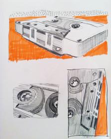 Cassette Orange