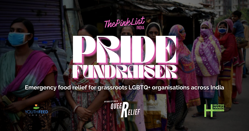 Pink List Pride Fundraiser 2021