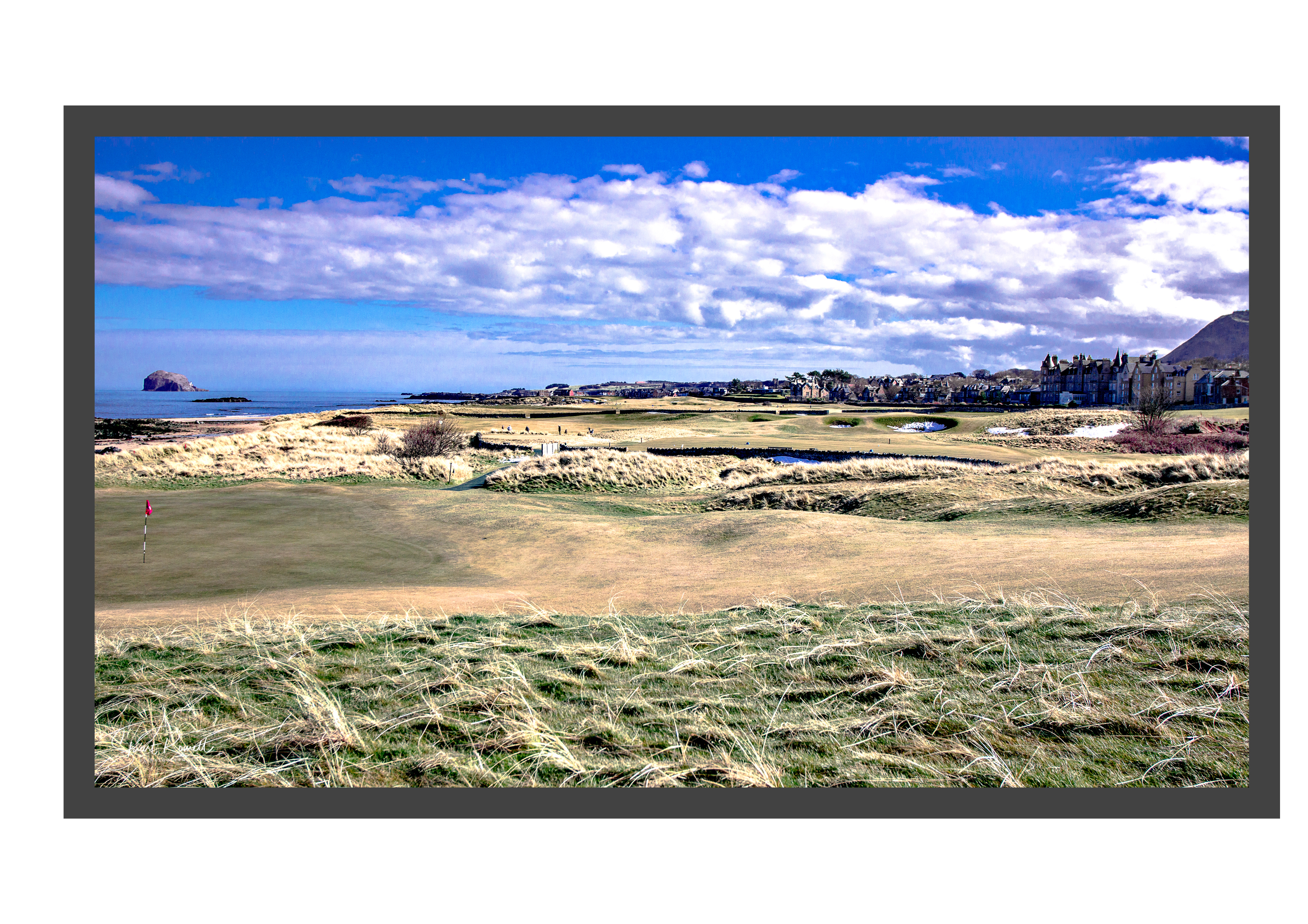 Framed North Berwick 080318-02