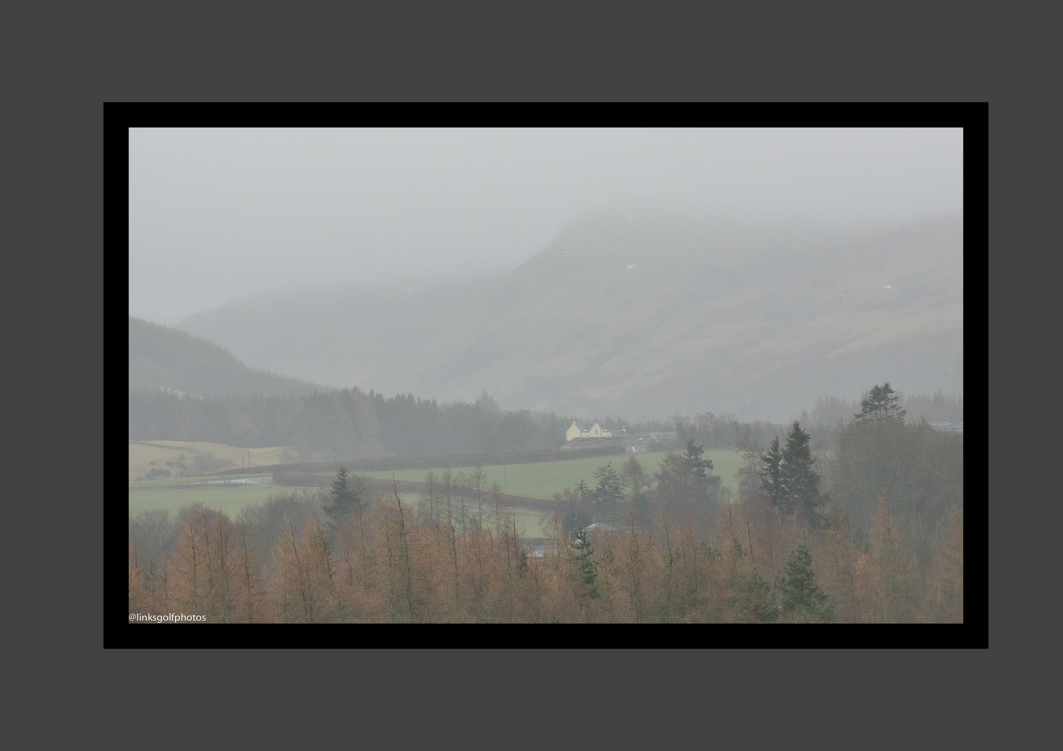 Mist in perthshire