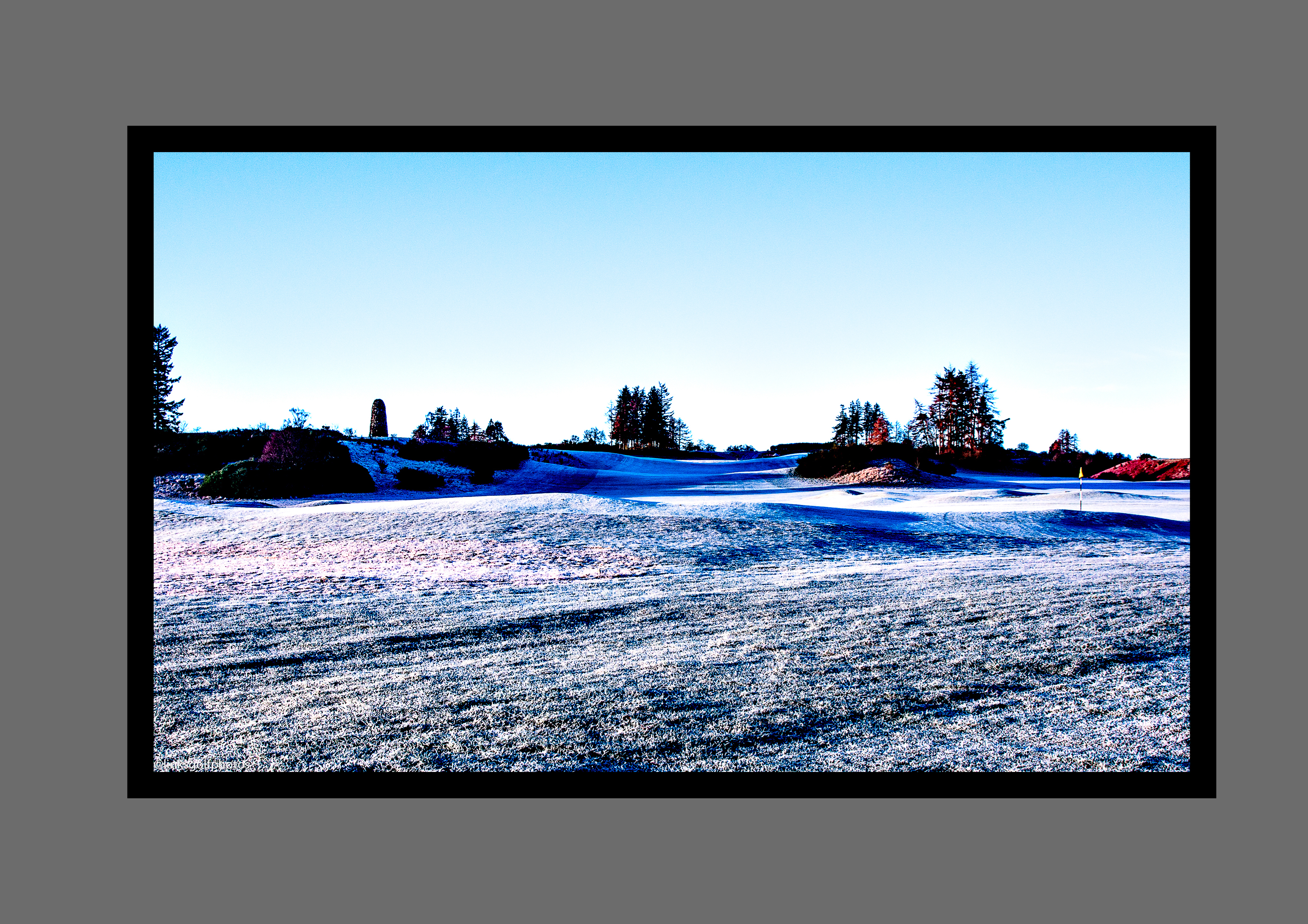 18th kings course in frost