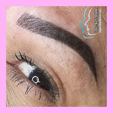 Combo 3d eyebrow tattoo