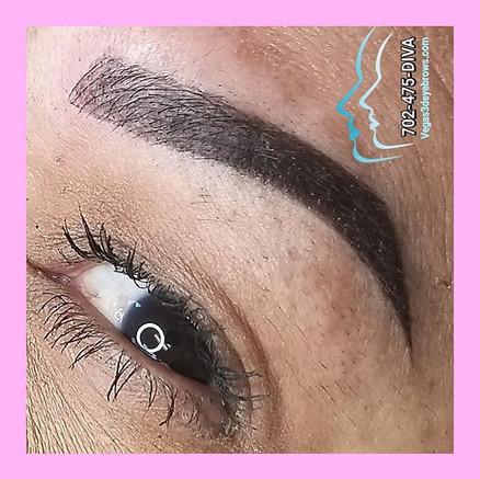 Combo 3d eyebrow tattoo