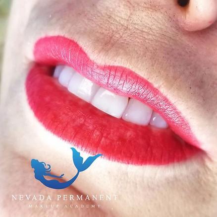 Full Lip Tinting Permanent Makeup
