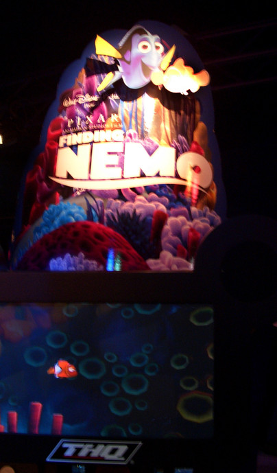 Nemo Interactive Kiosk installed