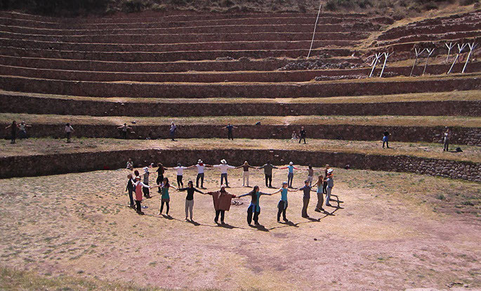 The Cusco Experience. Ollantaytambo, Cusco. 2011
